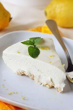 Järisyttävän hyvä sitruuna-juustokakku / ilman liivatetta