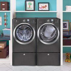 Electrolux Laundry Bundle | Electrolux EIFLS60LT Washer & Electrolux EIMED60LT Electric Dryer w/Pedestals -... via https://www.bittopper.com/item/electrolux-laundry-bundle-electrolux-eifls60lt-washer/