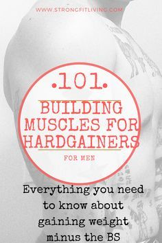 Information to help those struggling with weight and muscle gain. #bodybuilding #muscle