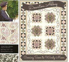 "We are so pleased to announce that we will be receiving the new Downton Abbey fabric line from Andover Fabrics. ""It always seemed rather dark when my Mother-in-law lived here; but then, she made everything rather dark."" - Dowager Countess of Grantham"