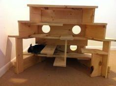 $140 Chinchilla Custom Wood Playground