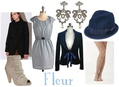 Outfit inspired by Fleur Delacour's style in Harry Potter and the Goblet of Fire