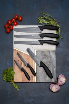 British cutlery company Viners has released a collection of kitchen knives with rounded tips in a bid to reduce knife-related crime incidents. Point Of Purchase, Kitchen Knives, Cleaning Wipes, No Response, Crime, Cutlery, Tableware, Tips, Objects