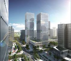 gmp Designs New Headquarters for CNPEC in Shenzhen, China,Courtesy of gmp…