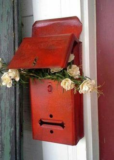 A old mail box.