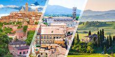 Via Francigena [Tuscany]: Radicofani-Siena-San Gimignano-Lucca-Massa with ViewRanger GPS Lucca, Siena, Tuscany, Santiago, Drive Way, Tuscany Italy