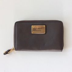 #MarcByMarcJacobs #Wallet #Leather | $69! Call for more info (781)449-2500. #FreeShipping #ShopConsignment  #ClosetExchangeNeedham #ShopLocal #DesignerDeals #Resale #Luxury #Thrift #Fashionista