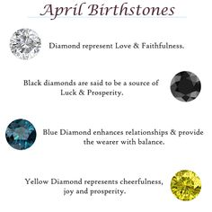 """Born in April? April Spring Sale Collection is here 💍 75% OFF Retail! Take Additional 10% off Coupon Code: """"TriJewels10"""" ! Limited Stock - Hurry!  #april #birthstone #finejewelry #jewelry #trijewels"""