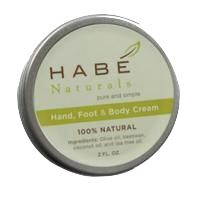 The NapTime Reviewer: Habé Naturals 100% Natural Hand & Foot Cream Giveaway