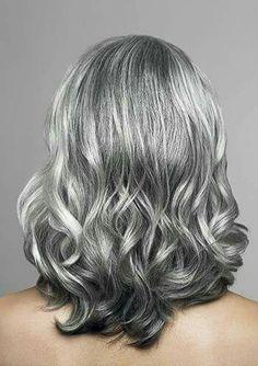 Oscuritos en cabello con canas