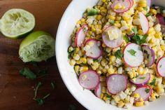 Corn Salad with Radishes, Jalapeño, and Lime | Jessica Murnane