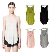 Fashion Summer Woman Lady Sleeveless Blouse V-Neck Candy Vest Loose Tank Tops T-shirt http://tinyurl.com/ngzy4ue #womenfashion #top #tshirt #fashiontshirt
