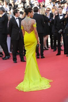 Selita Ebanks in Cadena Gabriela @ Cannes Film Festival 2013.