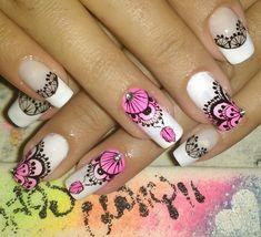 Nails Stamping Plates, Black Nails, Manicure And Pedicure, My Nails, Nail Designs, Nail Art, Beauty, Toenails Painted, Nail Arts