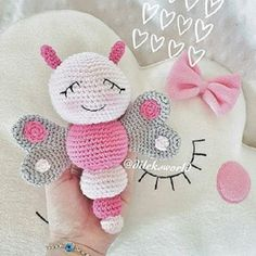 New Crochet Animals Amigurumi Tutorials Yarns Ideas Crochet Animal Amigurumi, Crochet Baby Toys, Crochet Animal Patterns, Crochet Bunny, Cute Crochet, Amigurumi Patterns, Crochet Animals, Crochet For Kids, Crochet Crafts