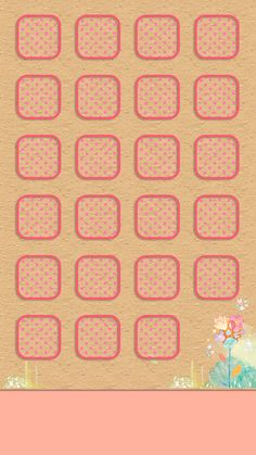 ↑↑TAP AND GET THE FREE APP! Shelves Icons Cute Simple Girly Pink For Girls Pretty Polka Dot Flowers HD iPhone 6 Wallpaper