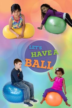 Using Therapy Balls for Kids with Special Needs and Autism