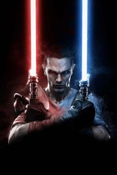 Starkiller (Born Jedi, trained Sith, turned Jedi?)