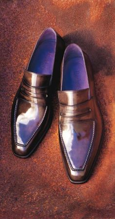 We ask the iconic shoe master Olga Berluti about men's footwear etiquette and style Me Too Shoes, Men's Shoes, Shoe Boots, Dress Shoes, Shoes Men, Patent Shoes, Dress Clothes, Sharp Dressed Man, Well Dressed Men