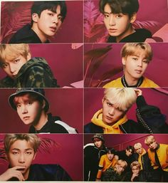 [SCANS] 180331 BTS X DAM 'FACE YOURSELF' Photoshoot 3rd Japanese Album Release date: 4th Apr