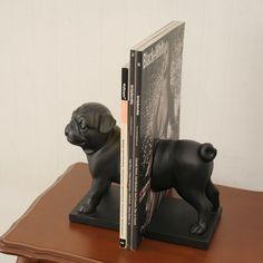 pug book stand