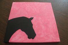 Horse Silhouette Canvas