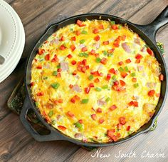 Western Omelette Frittata has all the great flavor of a traditional Western Omelette but in a baked dish. Brunch is my favorite meal. Don't get me wrong I have a strong affection for breakfast, lunch and dinner. However my heart will always belong to brunch. One of my favorite parts of brunch are omelettes. Most …