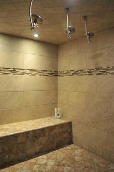 One of our best-kept secrets, our European Style Steam Room!