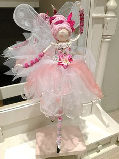 Large Fairy Lily-Long-Legs Ballerina in by FabulousFairyFactory