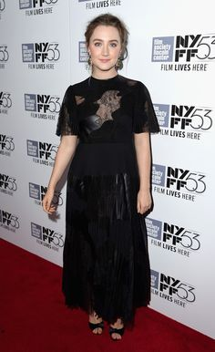 "Saoirse Ronan attends the 53rd New York Film Festival premiere of ""Brooklyn"" at Alice Tully Hall, Lincoln Center on October 7, 2015 in New York City."