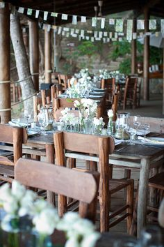 it may be a beach #wedding, but it can still be very elegant in its own way