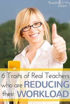 Angela Watson shares 6 traits of real teachers who are reducing their workload & finding real balance with the 40 Hour Teacher Workweek Club. First Year Teachers, New Teachers, Teacher Organization, Teacher Hacks, Computer Teacher, Computer Lessons, Technology Lessons, Computer Lab, Real Teacher