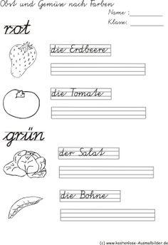 Schreiben Grundschule   Schreibübungen   Arbeitsblätter