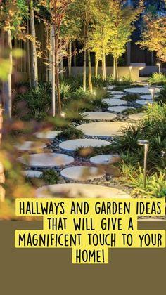 Landscape Lighting Design, Modern Landscape Design, Garden Landscape Design, Contemporary Landscape, Tiered Landscape, Landscape Architecture, Modern Design, Circular Garden Design, Contemporary Design