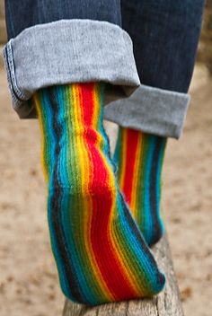 Longitudinal : Knitty First Fall 2012:  Use the Knit Picks Felicity in Rainbow colors that I've stashed?