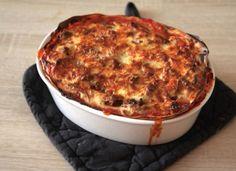 Recept na lasagne bolognese