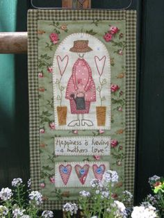 Projeto Hatched and Patched - A Mother's Love - Projetos « True Friends | Quilt | Patchwork | Patchcolagem | Tecidos Importados