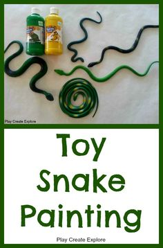 Toy Snake Painting