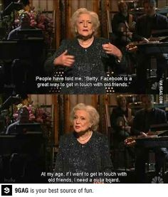 Betty White is f*ckin' hilarious!