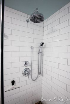 Laticrete Silver Shadow Grout With 4x12 Main Street In