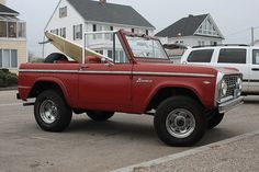 The vintage Ford Bronco...my favorite ride!