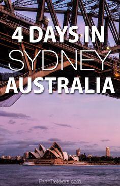 Sydney, Australia. B