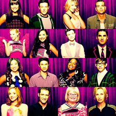 glee cast - won't be the same.