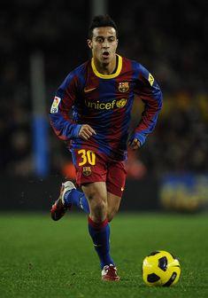 Thiago Alcantara, central midfielder, FC Barcelona