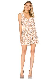 97c4f150560c Shop for For Love & Lemons Metz Mini Dress in Latte at REVOLVE. Free day  shipping and returns, 30 day price match guarantee.