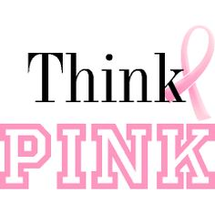 Are you thinking pink? This Women's Shirts graphic will help show your support to friends and family and help spread breast cancer awareness.