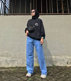 Modest Wear, Modest Outfits, Classy Outfits, Casual Outfits, Fashion Outfits, Modest Fashion, Casual Hijab Outfit, Ootd Hijab, Hijab Fashion Inspiration