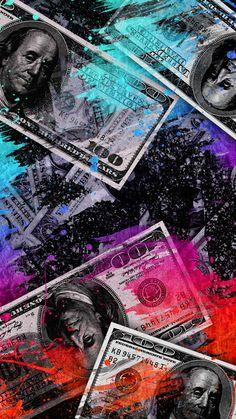 Money Bills Art - IPhone Wallpapers