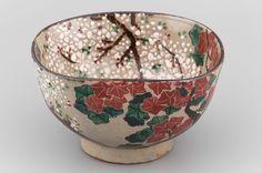 Large bowl, Japanese, Edo period, 19th century Nin'ami Dôhachi