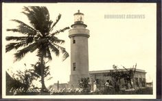 Faro, Aguadilla, P. - Unused c. Puerto Rico History, Puerto Rican Culture, Historical Images, Light House, Puerto Ricans, Beautiful Islands, Old Pictures, Cn Tower, Places To Visit